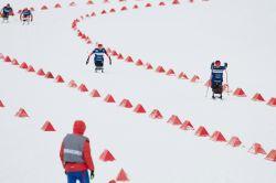 Станислав Чохлаев и Анна Миленина одержали третьи победы в лыжных гонках на I этапе Кубка мира IPC в Тюмени