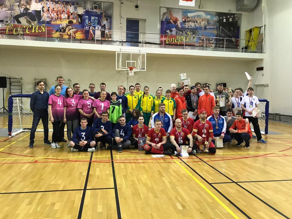 Мужская сборная Новосибирской области и женская сборная Калужской области стали победителями чемпионата России по голболу спорта слепых