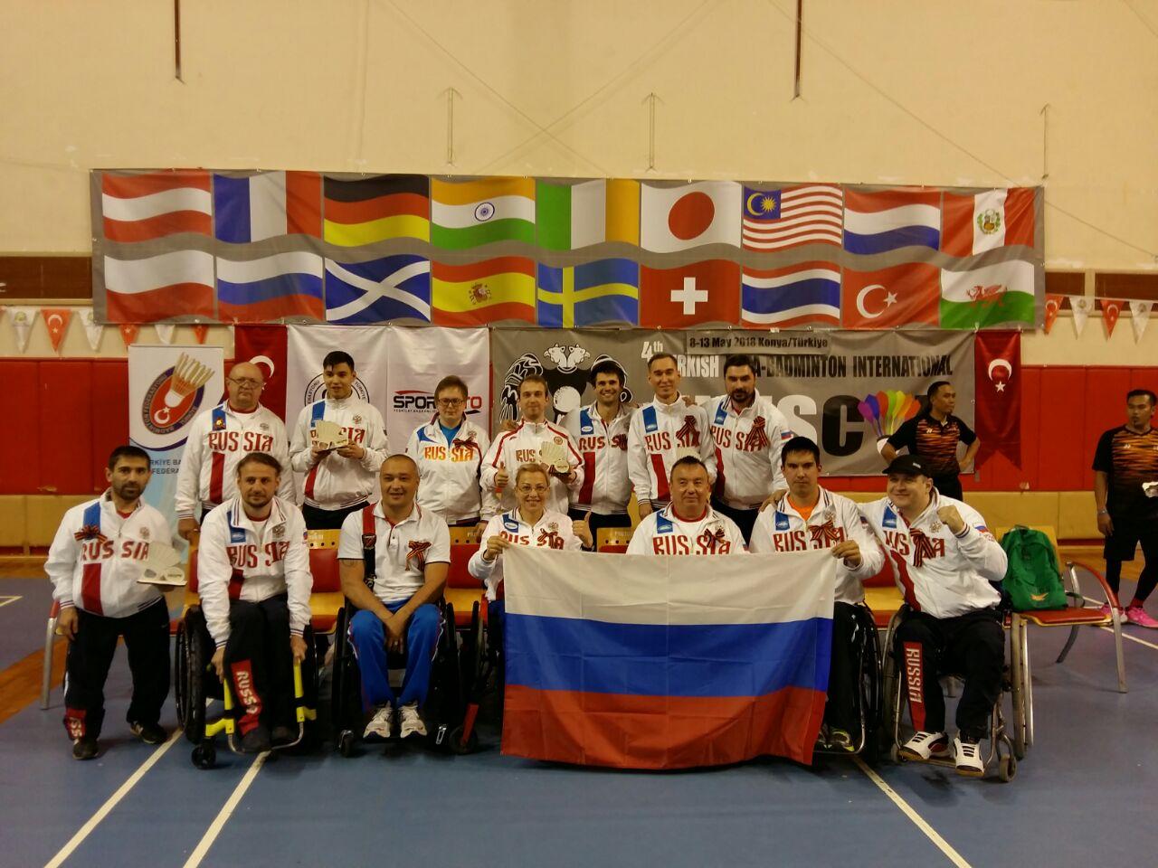 3 бронзовые медали завоевали российские бадминтонисты с ПОДА на международных соревнованиях в Турции