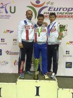 Сборная команда России по паратхэквондо завоевала 4 золотых, 4 серебряных и 5 бронзовых медалей на чемпионате Европы в Молдавии