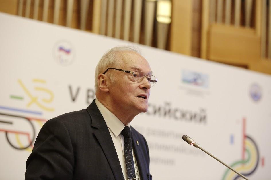 ПКР поздравляет вице-президента ПКР, президента Всероссийской федерации спорта ЛИН С.П. Евсеева с Юбилеем
