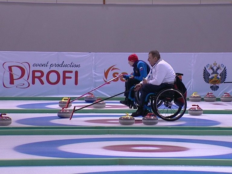 В г. Сочи завершились Всероссийские соревнования по керлингу на колясках