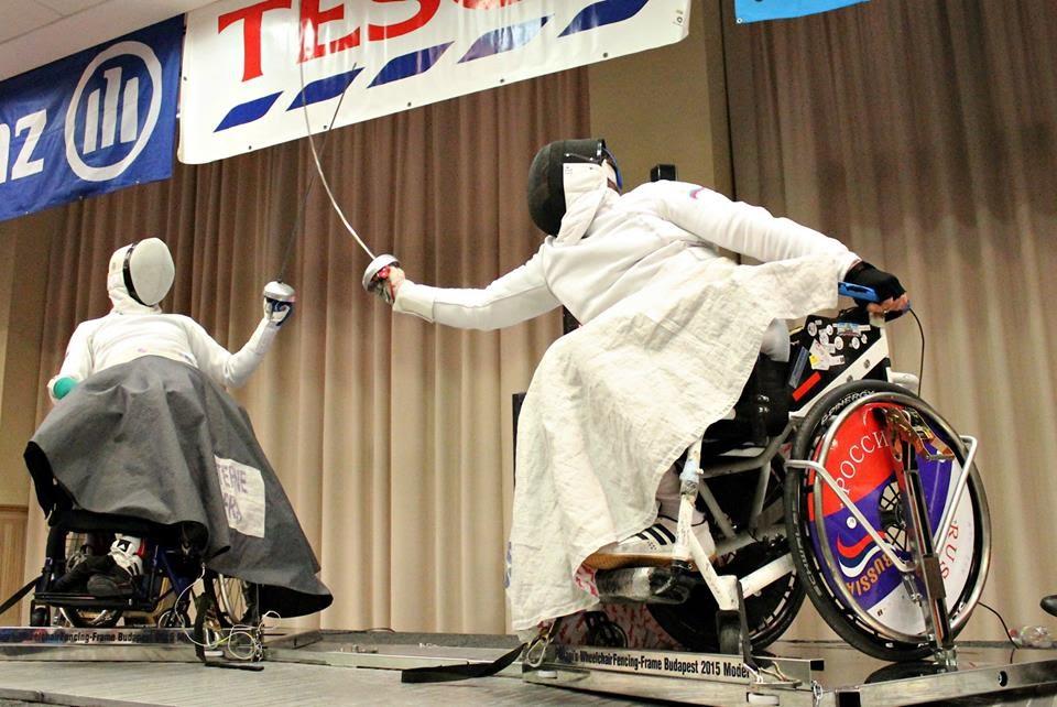 Сборная команда России по фехтованию на колясках примет участие в чемпионате мира в Корее