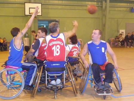 Сборная команда России по баскетболу на колясках приняла участие в международных соревнованиях в Словении