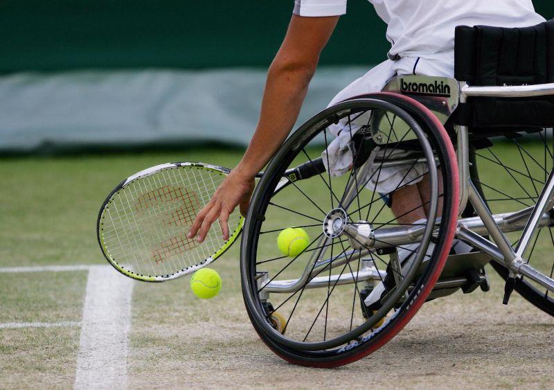 Завершился второй соревновательный день чемпионата и первенства мира по теннису на колясках