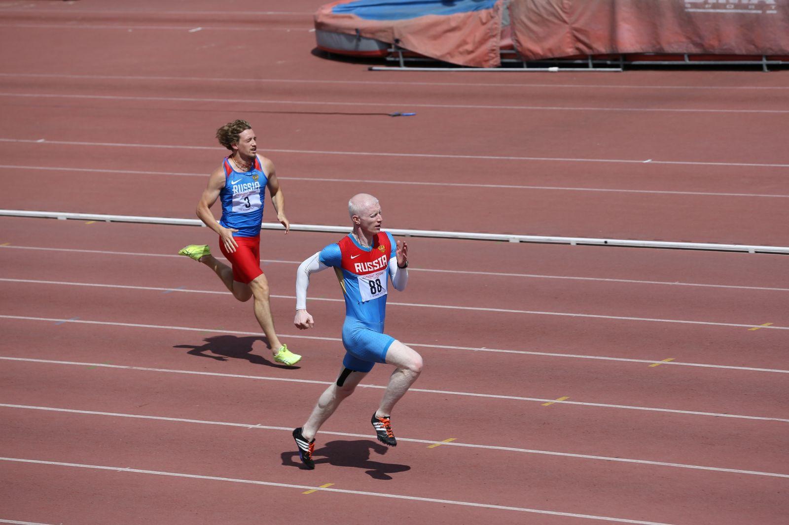 В Челябинске завершился чемпионат России по легкой атлетике спорта лиц с нарушением зрения