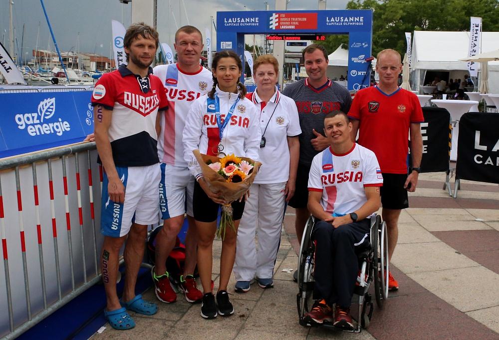 Серебряную и бронзовую медали завоевали российские паратриатлонисты на чемпионате мира в Швейцарии
