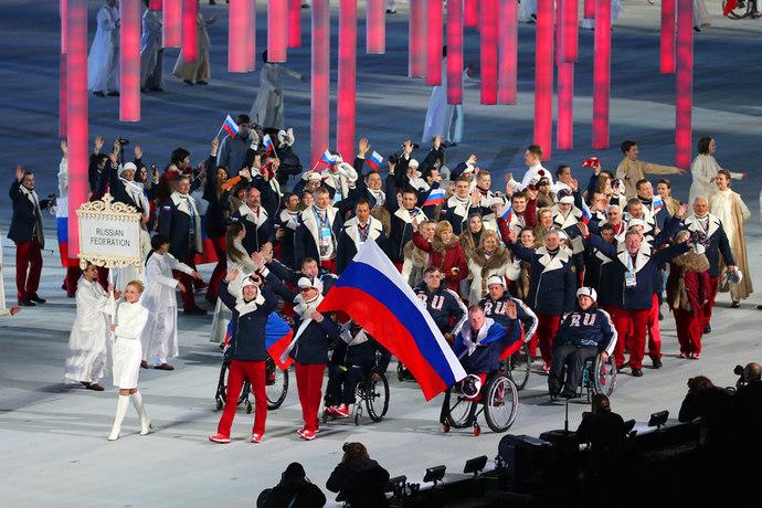 В  г. Сочи на олимпийском стадионе «Фишт» состоялось торжественное открытие XI Паралимпийских зимних игр