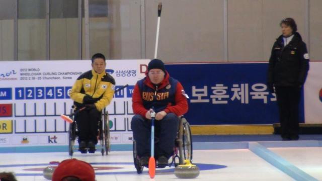 в Южной Корее завершился Чемпионат Мира по керлингу на колясках. Россияне стали чемпионами Мира.