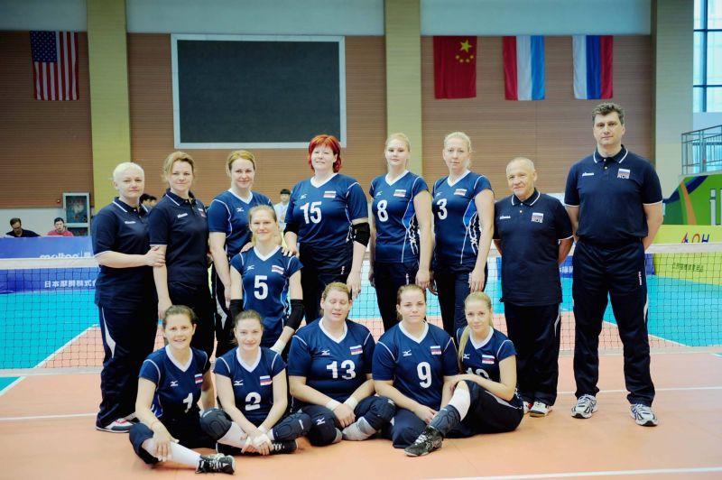 Женская сборная команда России по волейболу сидя заняла первое место на престижном международном турнире в Китае