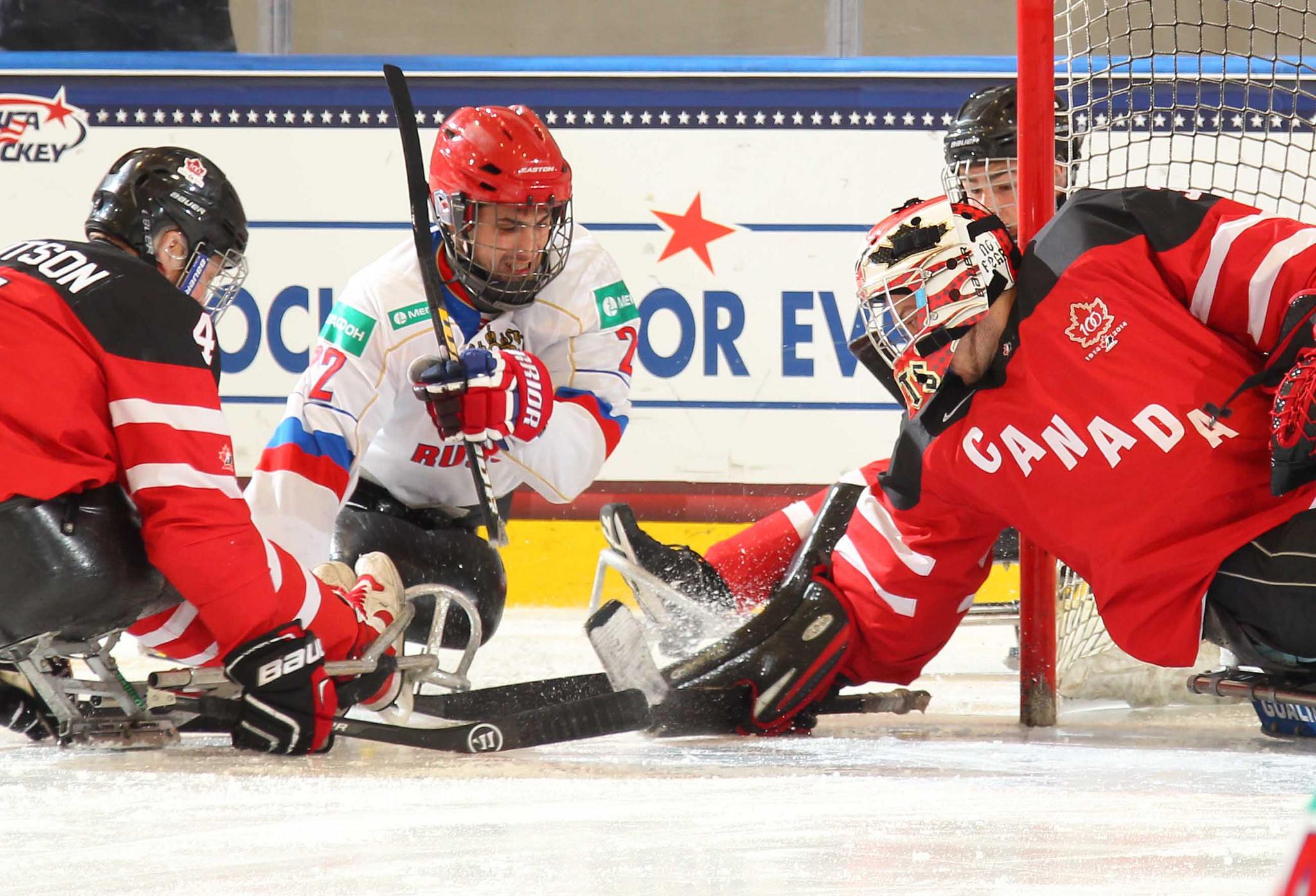 Сборная команда России сразится с командой Норвегии в матче за бронзовые награды чемпионата мира по следж-хоккею в группе А в США