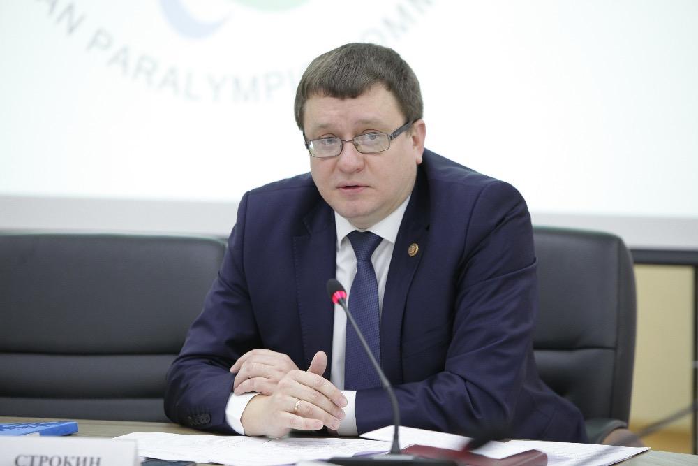 А.А. Строкин в Общественной палате Российской Федерации принял участие в заседании Общественного совета при Минспорте России