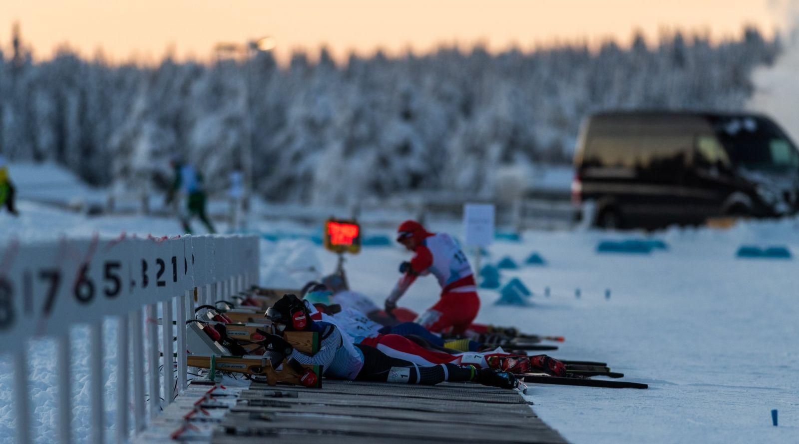 Сборная России выиграла медальный зачет I этапа Кубка мира по лыжным гонкам и биатлону МПК