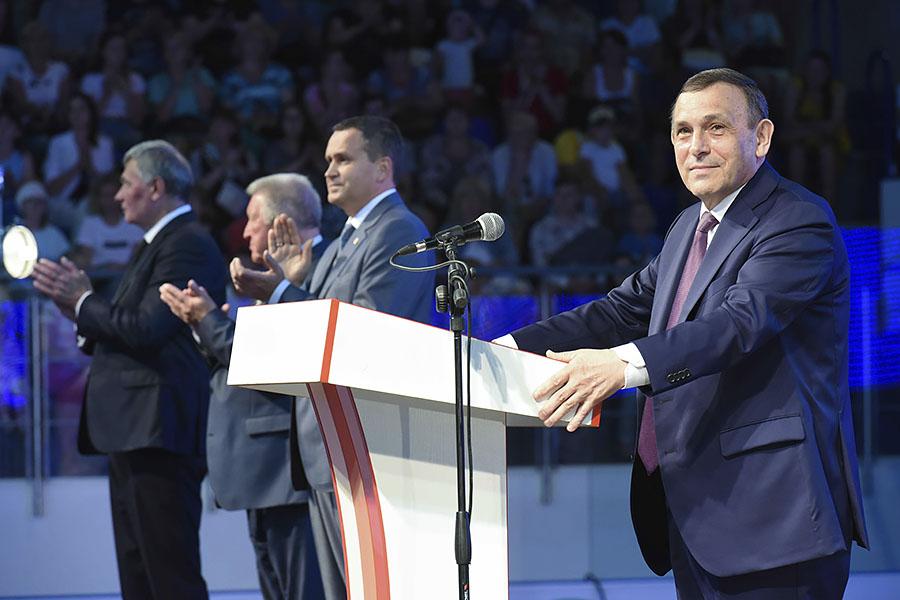 Л.Н. Селезнев в г. Йошкар-Оле принял участие в торжественной церемонии закрытия III Всероссийской летней спартакиады инвалидов 2019 года
