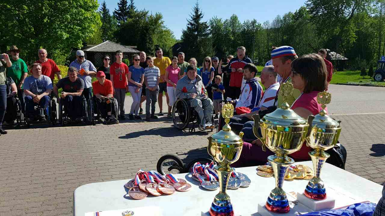 В Пскове определены победители чемпионата России по спортивному ориентированию спорта лиц с ПОДА
