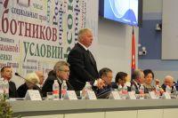 П.А. Рожков в Олимпийском парке г. Сочи принял участие во втором дне работы IX съезда Федерации Независимых Профсоюзов России