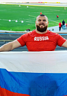 #trainingtogether with repeated winner of the Russian championships and international competitions in Para Athletics among PI Athletes Sergey Sokulskiy