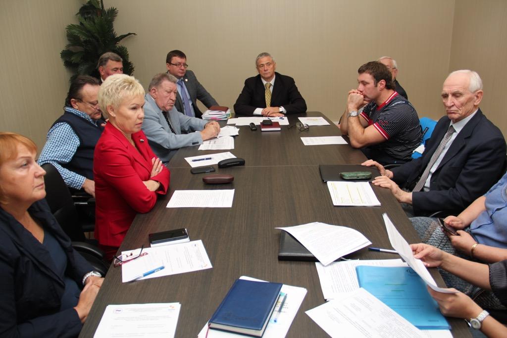П.А. Рожков в Доме паралимпийского спорта провел заседание Совета по координации программ, планов и мероприятий ПКР