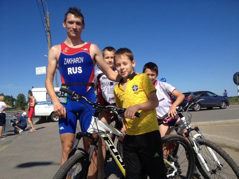 В г. Нижнем Новгороде (нижегородская область) прошел чемпионат России по триатлону спорта лиц с поражением опорно-двигательного аппарата
