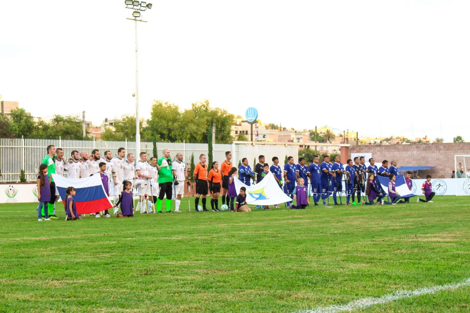 Сборная команда России по футболу ампутантов в 1/8 финала чемпионата мира встретится с командой Кении