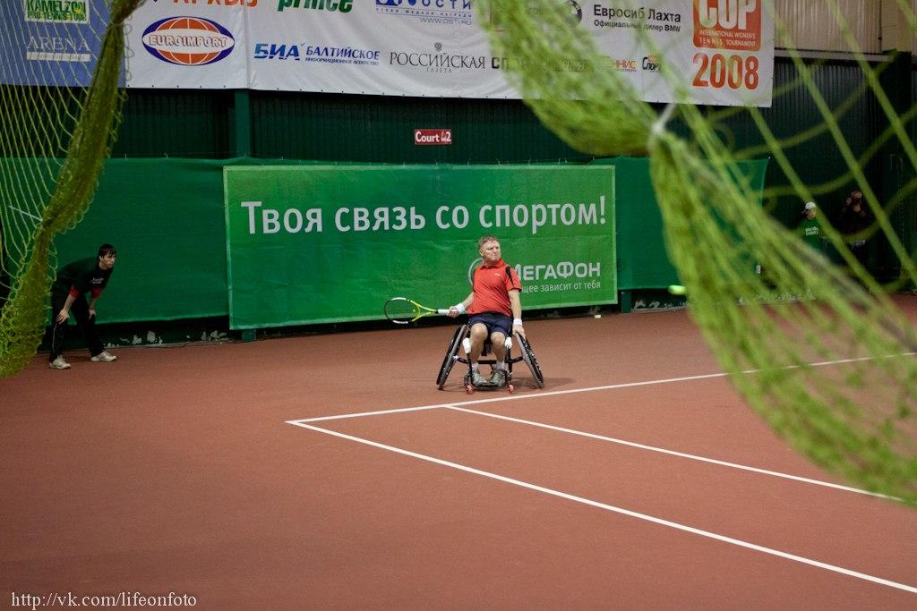 В  г.  Всеволжске (Ленинградская область) прошел международный турнир по теннису на колясках