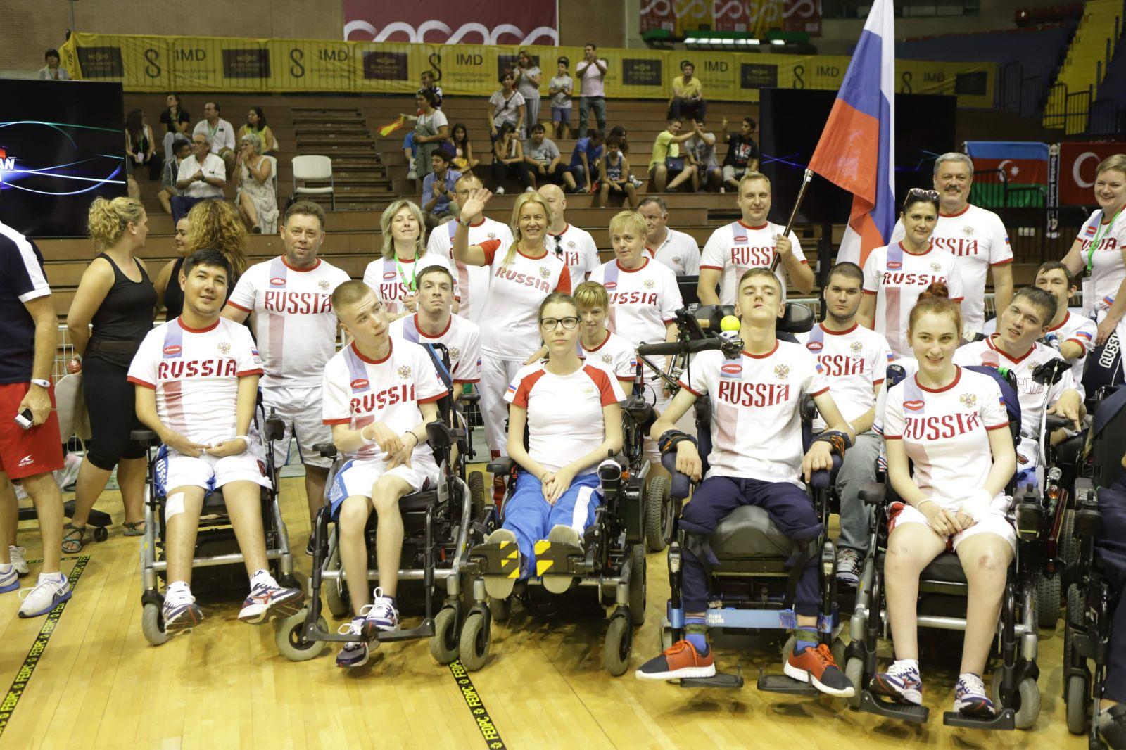 Золотую, серебряную и бронзовую медали завоевала сборная России по бочча на чемпионате Европы в Испании