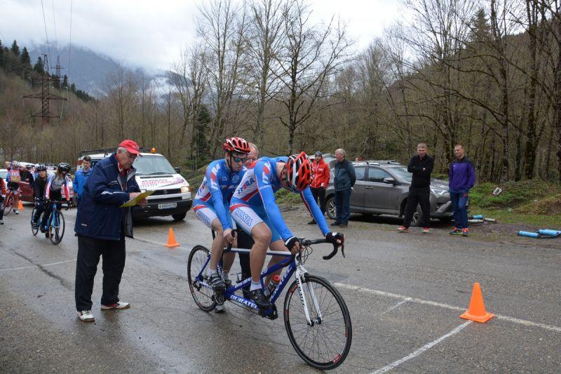 Спортсмены из Удмуртии и Свердловской области стали победителями Всероссийских соревнований по велоспорту среди слепых