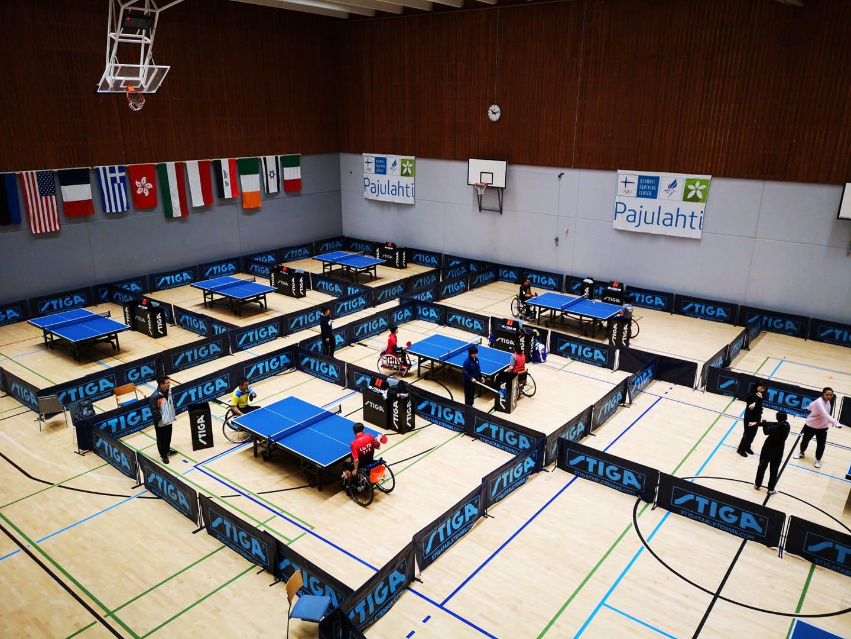 17 медалей завоевала сборная команда России на международных соревнованиях по настольному теннису спорта лиц с ПОДА «Para Finland Open»