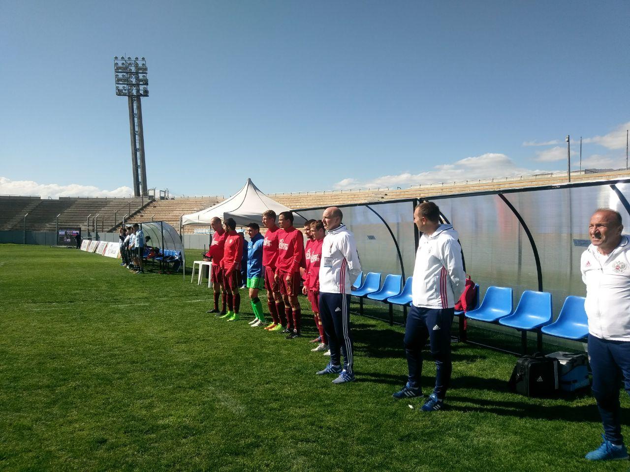 Сборная России одержала третью победу подряд и стала победителем в группе В на чемпионате мира по футболу 7х7 ЦП в Аргентине