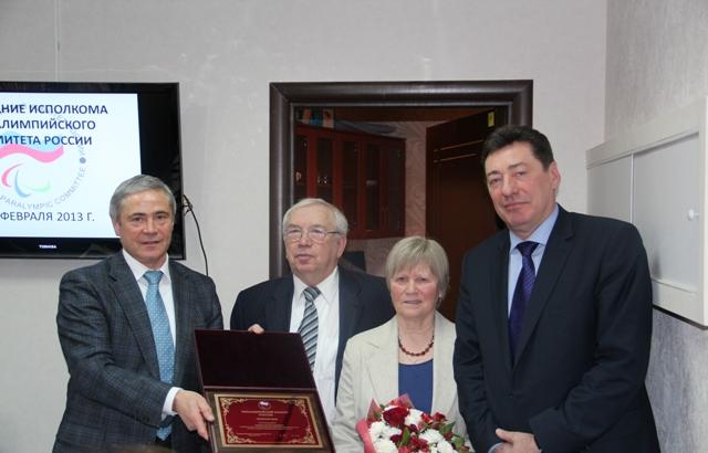 В офисе Паралимпийского комитета России состоялось заседание Исполкома ПКР  под руководством президента ПКР В. П. Лукина
