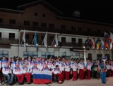 The President of the Russian Federation Vladimir Putin participated in the Ceremony of Flag Raising at the Paralympic Village today. The Minister of Sport of the Russian Federation Vitaly Mutko, the President of the Russian Paralympic Committee Vladimir L