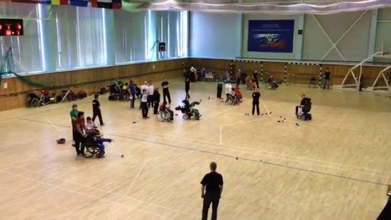 Сборная города Санкт-Петербурга стала победителем командного зачета на чемпионате России по бочча