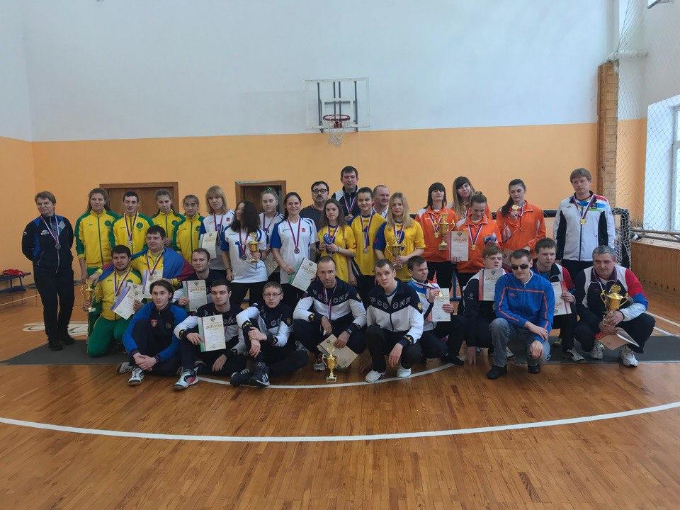 Сборные Новосибирской и Калужской областей стали победителями чемпионата России по торболу спорта слепых в Раменском