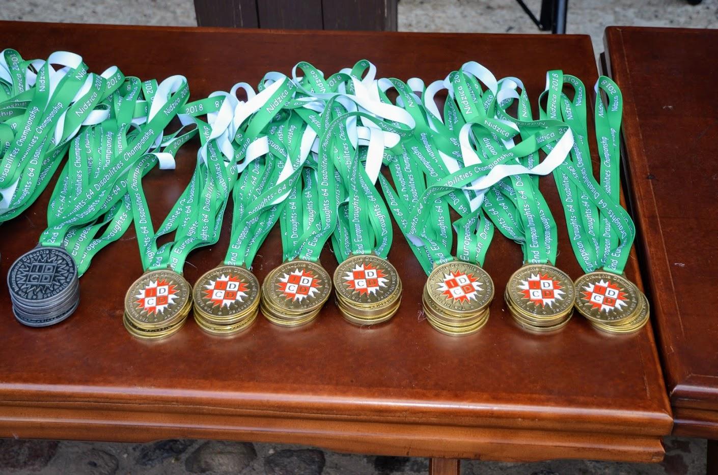 2 золотые, 5 серебряных и 4 бронзовые медали завоевали российские спортсмены с ПОДА и нарушением зрения на чемпионате и первенстве Европы по шашкам в Польше