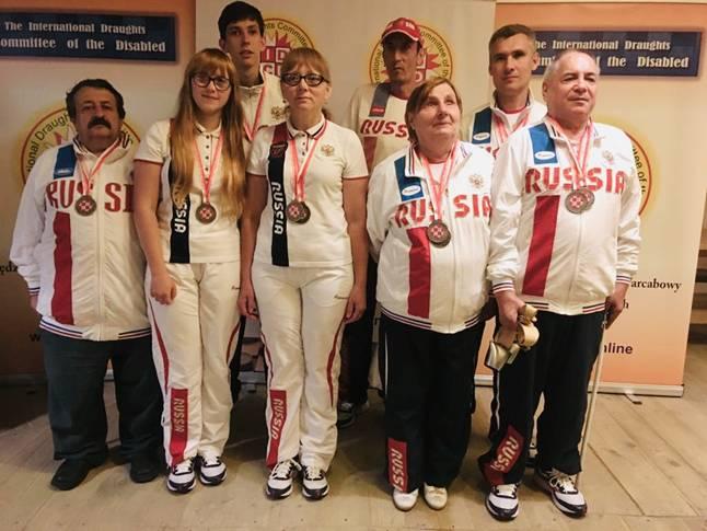 В Польше завершились чемпионат и первенство мира по шашкам среди лиц с ограниченными возможностями здоровья
