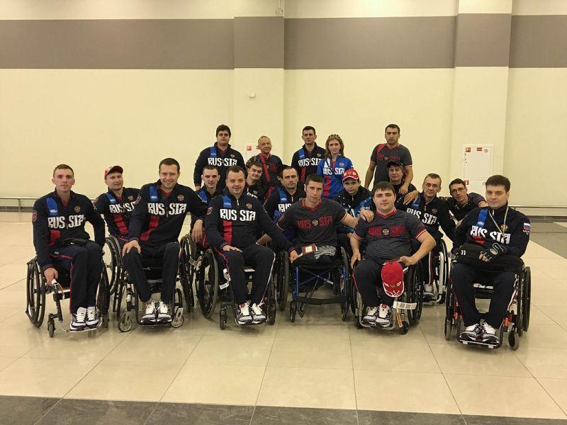 Российские спортсмены выступят на международном турнире по регби на колясках в Нидерландах