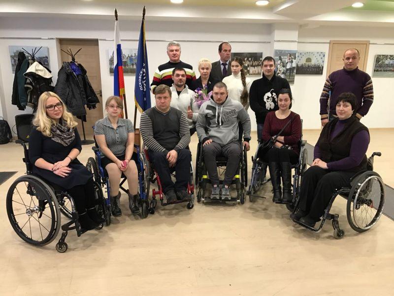 Р.А. Баталова совершила рабочую поездку в г. Псков с целью развития паралимпийского спорта в Псковской области