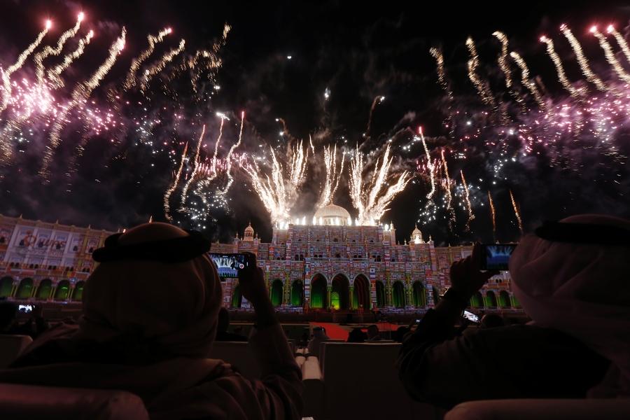 П.А. Рожков в г. Шарджа (ОАЭ) принял участие в церемонии открытия Всемирных игр колясочников и ампутантов (IWAS)