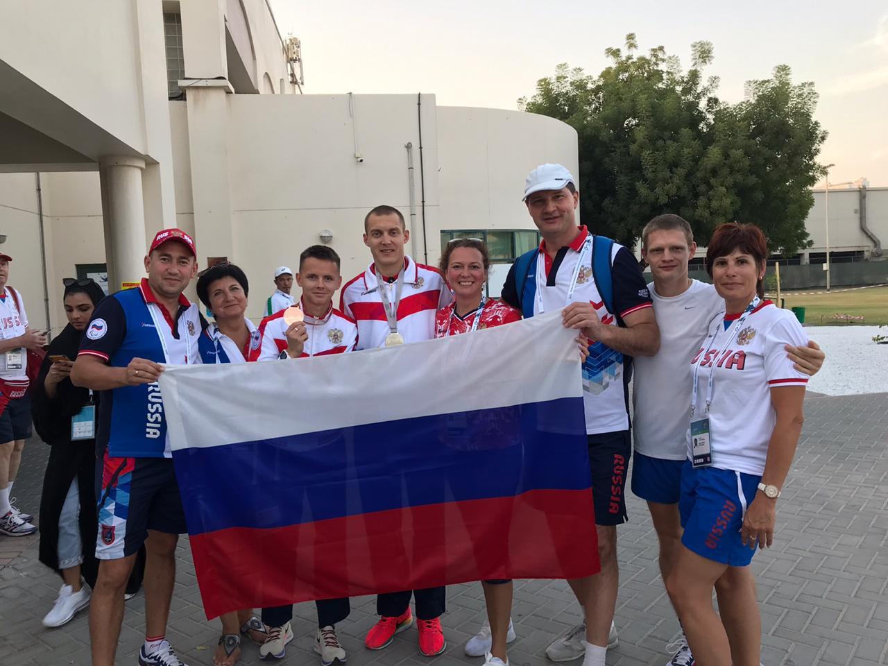 Нижегородец Андрей Вдовин завоевал «золото» в третий день чемпионата мира по легкой атлетике МПК в Дубае