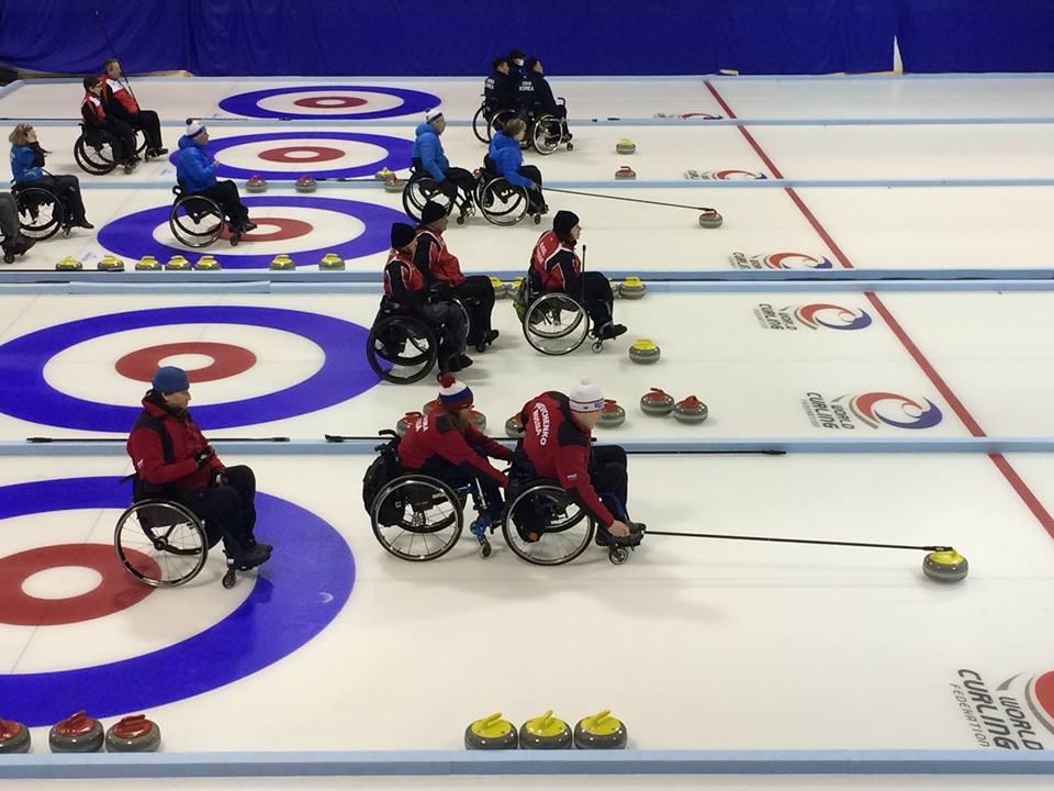 Сборная команда России по керлингу на колясках стала победителем утешительной части турнира «Kisakallio Open 2018»