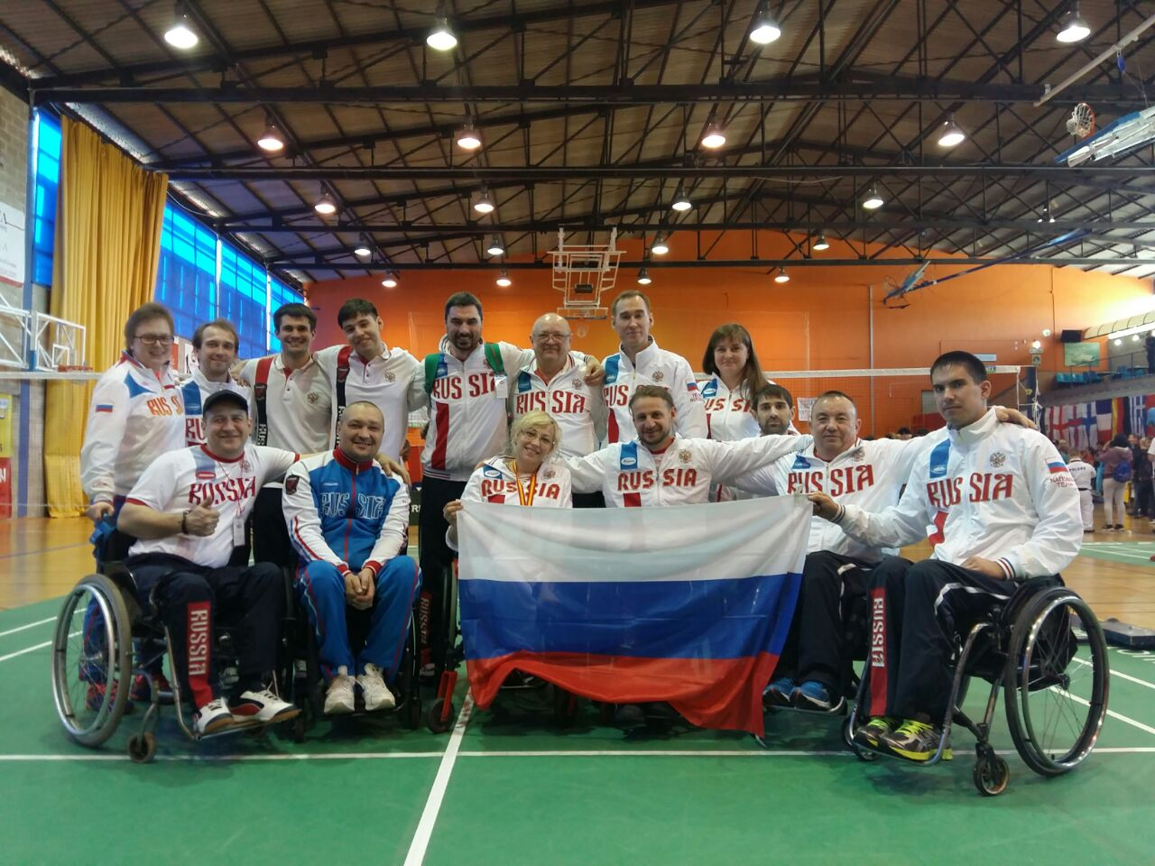 Российская парабаминтонистка Ирина Кузьменко завоевала бронзовую награду международного турнира в Испании