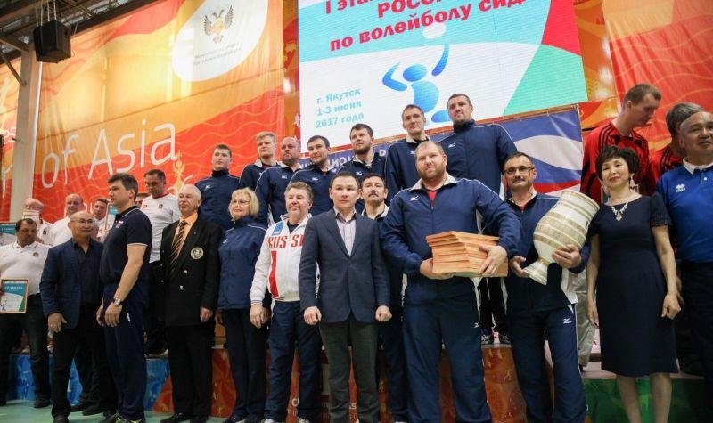 Александр Овсянников: Якутск провел лучший в истории этап чемпионат России по волейболу сидя