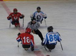 Три команды лидируют на чемпионате России по хоккею-следж в Алексине