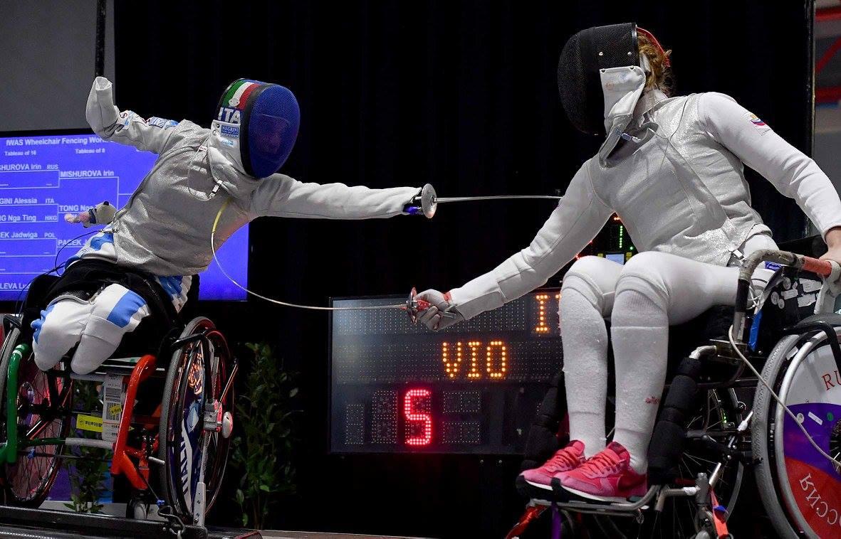Омские спортсмены-колясочники завоевали Кубок мира пофехтованию