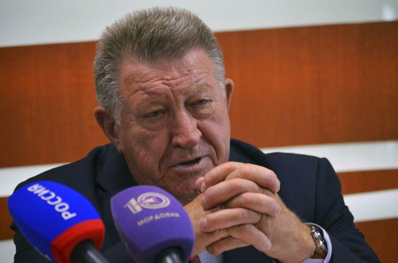 Л.Н. Селезнев в КВЦ «Сокольники» принял участие в церемонии открытия и просмотре Международной выставки «Спорт»
