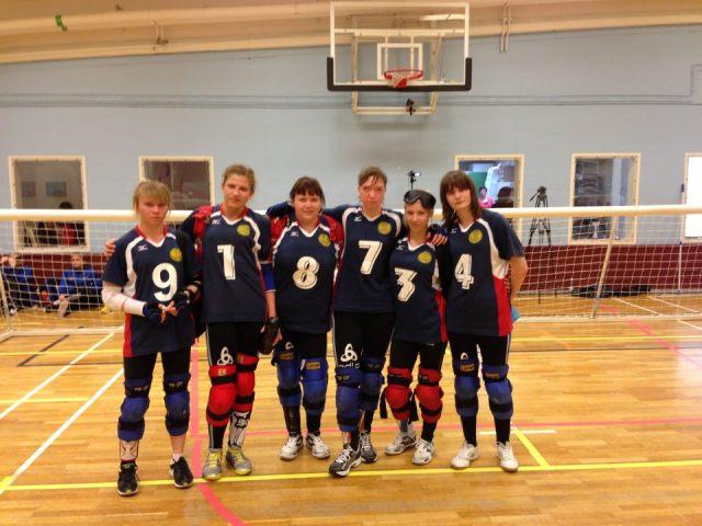 Сборная команда  России по голболу   спорта  слепых  среди женских команд  заняла второе место на международных соревнованиях в Швеции