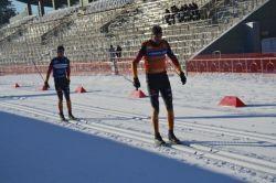 Станислав Чохлаев одержал пятую победу кряду на первом этапе Кубка мира по лыжным гонкам и биатлону в Тюмени
