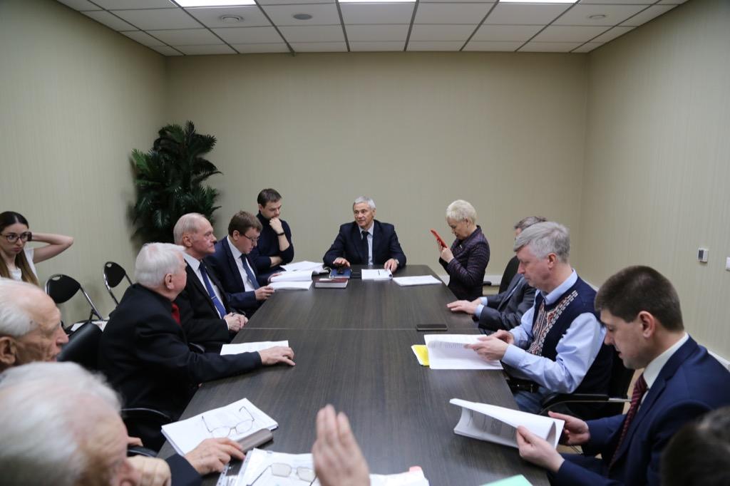 П.А. Рожков в офисе Паралимпийского комитета России провел заседание Совета по координации программ, планов и мероприятий ПКР