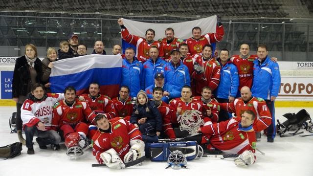 Сборная России по хоккею - следж заняла первое место на международном турнире в Италии