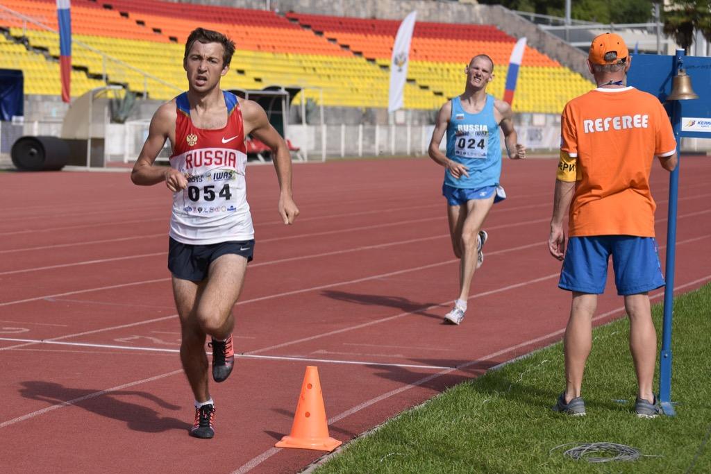 Российские легкоатлеты завоевали 14 золотых, 8 серебряных и 11 бронзовых медалей во второй день Всемирных игр IWAS в Сочи